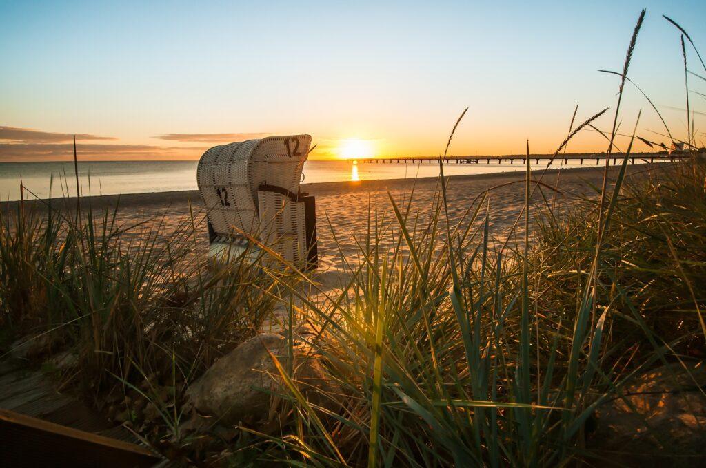 Goldene Stunde am Strand von Scharbeutz